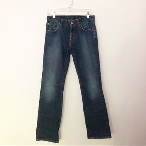 Lucky Brand Slim Bootleg Button Fly Jeans 29-Tall